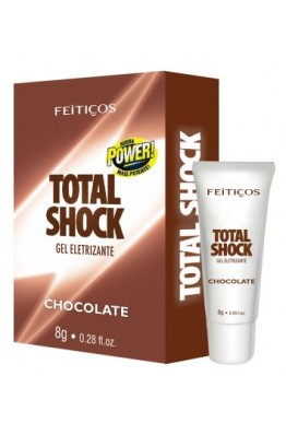 Gel Eletrizante - Total Shock Chocolate - 8g