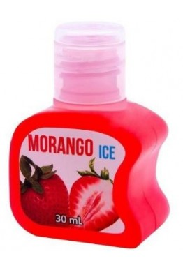 GEL BEIJAVEL MORANGO ICE 30ml